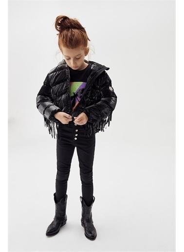 Tyess Kız Çocuk Siyah Pantolon 20Fw1Tj4229 Siyah